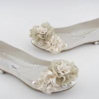 Babet Gelin Ayakkabısı Modelleri 200x200 Düz Taban Gelin Ayakkabısı Modelleri