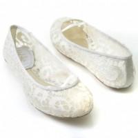 Dantelli Düz Taban Gelin Ayakkabısı Modelleri 200x200 Düz Taban Gelin Ayakkabısı Modelleri